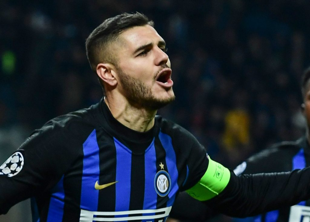 The Perfect Attacker Mauoro Icardi pada Liga Italia Inter Milan vs Udinese